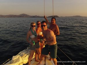 Casa Las Brisas also offers awesome sail boat cruises in Playa Flamingo!