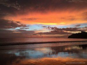 Sunset On Flamingo Beach