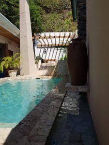 Casa Las Brisas vacation rental home Costa Rica pool with hot tub