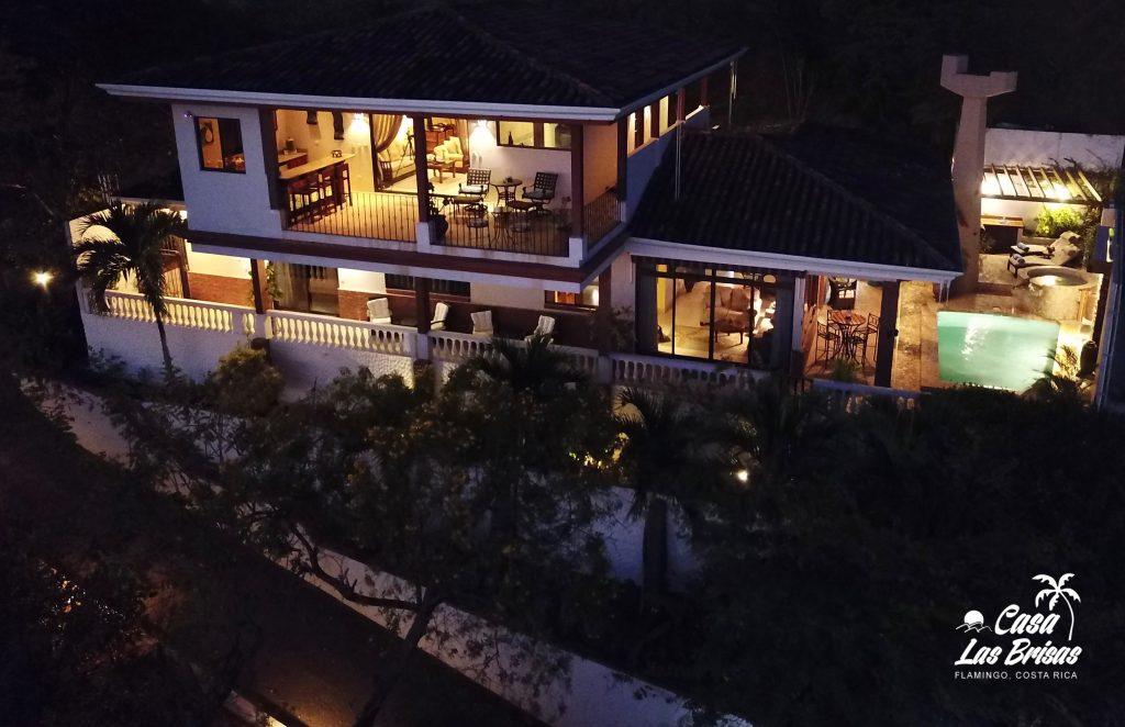 Casa Las Brisas in Flamingo, Costa rica home for vacation rental