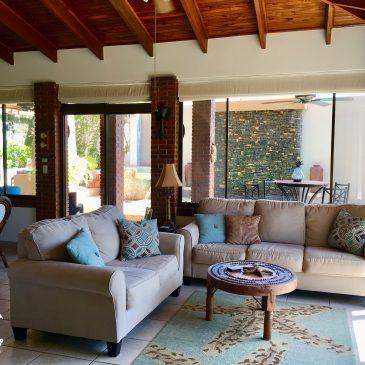 Casa Las Brisas Living Room in Costa Rica Costa rica long stay vacation